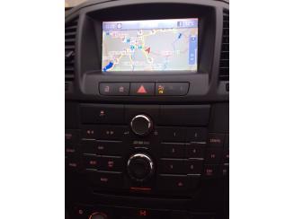 Opel Insignia CD500 NAVI Gyári Navigáció. Színes Kijelző-Fejegység-Kezelő Panel