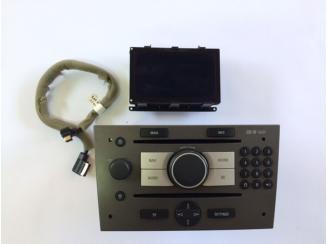 Opel CD70 NAVI+CID Kijelző Vectra C-Signum.Gyári Navigáció