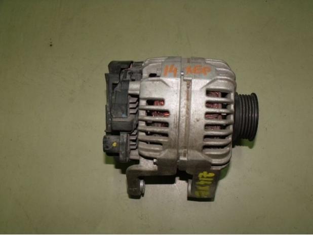 Opel Generátor.Bosch 0124425021 ZK.100A.Z10XE/P-Z14XEP. Astra G/H-Corsa C-Tigra TT stb
