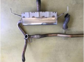 Opel Corsa D OPC REMUS  Kupufogórendszer.