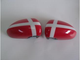 Opel Corsa D Tükörburkolat és Matricaszett.Dán Mintás GM13352357 Gyári Új